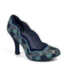 Ruby Shoo 'Madison' Ladies Heels (Blue)