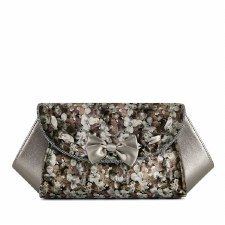 Ruby Shoo 'Palma' Ladies Clutch Bag (Pewter)