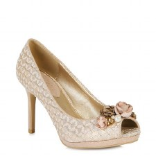 Ruby Shoo 'Sonia' Ladies Heels (Rose Gold)