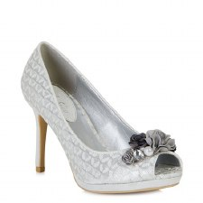 Ruby Shoo 'Sonia' Ladies Heels (Silver)