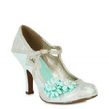 Ruby Shoo 'Yasmin' Ladies Heels (Blue)