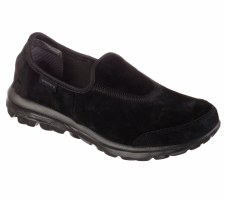Skechers 'Go Walk - Winter' Ladies Shoe (Black)