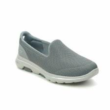 Skechers 'GOwalk 5' Ladies Shoes (Grey)