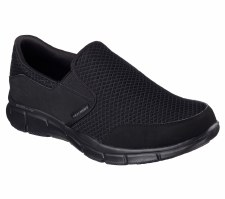Skechers 'Equalizer - Persistent' Mens Sport Shoes (Black)