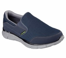 Skechers 'Equalizer - Persistent' Mens Sport Shoes (Navy/Grey)