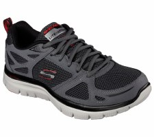 Skechers 'Flex Advantage - First Team' Mens Trainers (Grey)