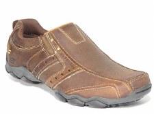 Skechers 'Heisman' Mens Loafers (Brown)