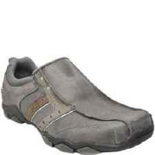 Skechers 'Heisman' Mens Loafers (Grey)