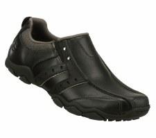Skechers 'Heisman' Mens Loafers (Black)