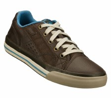 Skechers 'Relaxed Fit-Diamondback' Boys Shoe (Chocolate)