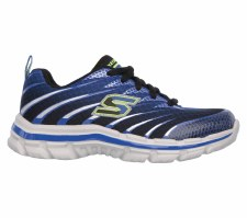 Skechers 'Nitrate' Boys Trainers (Royal/Black)
