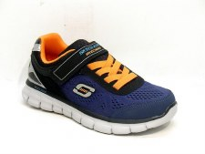Skechers 'Synergy - Power Rush' Boys Trainers (Black/Navy)