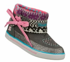 Skechers 'Streetsmarts' High Top Sneakers (Grey/Multi)