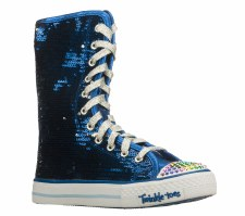 Skechers 'Bizzy Bunch' High Top Sneakers (Royal Blue)