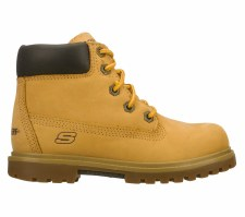 Skechers 'Mecca-Lumberjack' Boys Ankle Boots (Honey)