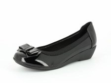 Heavenly Feet 'Puket' Ladies Pomps (Black Patent)