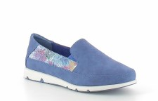 Heavenly Feet 'Charly' Ladies Shoes (Blue)