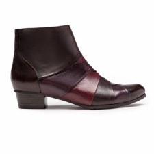 Regarde Le Ciel 'Stefany' Ladies Ankle Boots (Brown Multi)