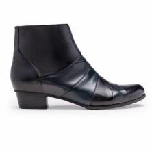 Regarde Le Ciel 'Stefany' Ladies Ankle Boots (Black Multi)