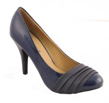 Susst 'Divine' Patent Style Shoe (Navy)
