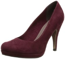 Tamaris '22407' Ladies Heels (Bordo)