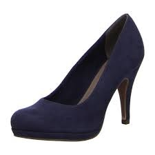 Tamaris '22407' Ladies Heels (Navy)