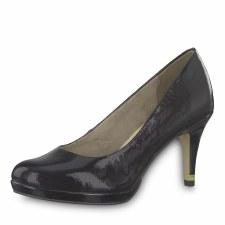 Tamaris '22444' Ladies Heels (Black Patent)