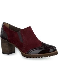Tamaris '24400' Ladies Shoes (Bordo)
