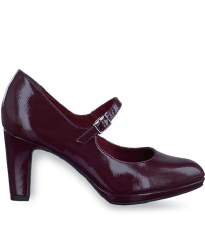 Tamaris '24406' Ladies Heels (Bordo Patent)