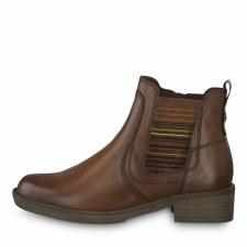 Tamaris '25012' Ladies Ankle Boots (Cognac)