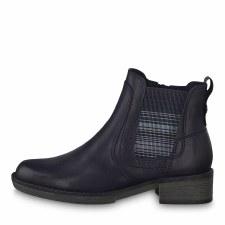 Tamaris '25012' Ladies Ankle Boots (Navy)