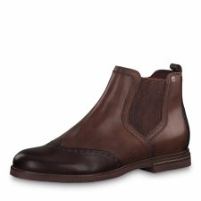 Tamaris '25012' Ladies Ankle Boots (Chestnut)