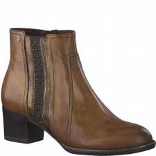 Tamaris '25360' Ladies Ankle Boots (Maroon)