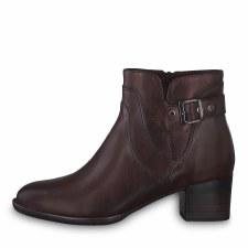 Tamaris '25361' Ladies Ankle Boots (Bordo)