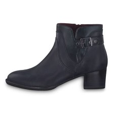 Tamaris '25361' Ladies Ankle Boots (Navy)