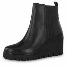 Tamaris '25430' Ladies Ankle Boots (Black)