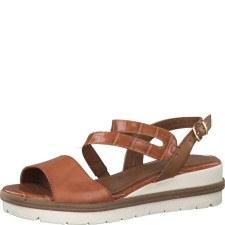 Tamaris '28203' Ladies Sandals (Sunset)
