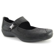 Tamaris '24600' Ladies Comfort Shoes (Black)