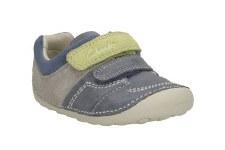 Clarks 'Tiny Ben' Boys Pre Walking Shoes (Denim Blue)