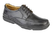 Roamers 'M028' Mens Shoes (Black)
