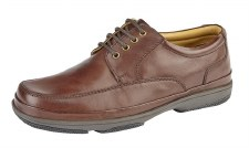Roamers 'M028' Mens Shoes (Brown)