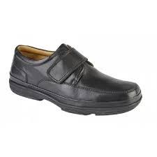 Roamers 'M037' Mens Shoes (Black)