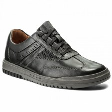 Clarks 'Unrhombus Fly' Mens Shoes (Black)