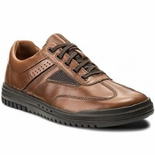 Clarks 'Unrhombus Fly' Mens Shoes (Tan)