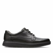 Clarks 'Un Abode Ease' Mens Shoes (Black)