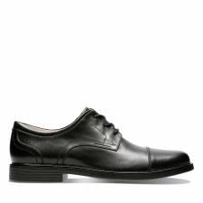 Clarks 'Un Aldric Cap'  Mens Shoes (Black)