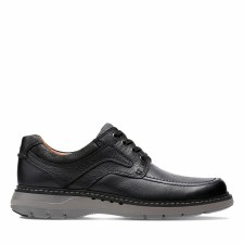 Clarks 'Un Ramble Lace' Mens Shoes (Black)