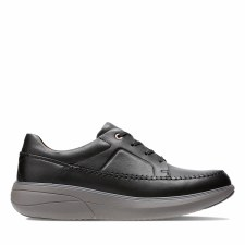 Clarks 'Un Rise Lace' Mens Shoes (Black)
