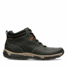 Clarks 'Walbeck Top II' Mens Boots (Black)