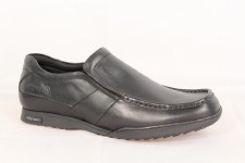 Wrangler 'Gerrard' Leather Shoes (Black)